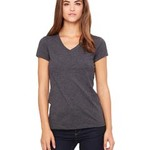 Bella 6005 - Ladies'  4.2 oz. Short-Sleeve V-Neck T-Shirt