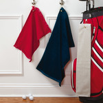 by Anvil Fringed Fingertip Towel with Corner Grommet and Hook