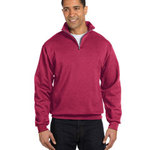 8 oz., 50/50 NuBlend® Quarter-Zip Cadet Collar Sweatshirt