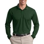 Long Sleeve Micropique Sport Wick ® Polo