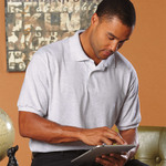 Adult ComfortBlend® EcoSmart® Jersey Polo