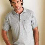 DryBlend™ 50/50 Pocketed Jersey Sport Shirt