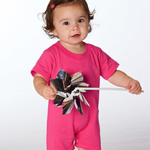 Rabbit Skins Infant T-Romper
