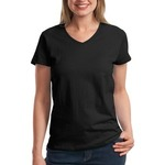 Hanes Ladies ComfortSoft ® V Neck T Shirt