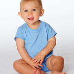 Rabbit Skins Infant Short-Sleeve Creeper