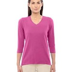 Ladies' Perfect Fit™ Bracelet Length V-Neck Top
