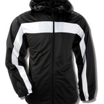 Adult Brushed Tricot Hooded Jacket
