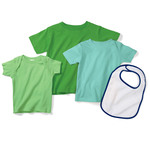 Infant Terry Snap Bib