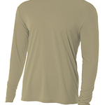 Cottontails Long-Sleeve Cooling Performance Crew Neck T-Shirt