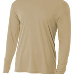 Youth Long Sleeve Cooling Performance Crew