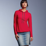 Ladies' Lightweight Long-Sleeve Hooded Tee