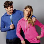 Adult Lightweight Long-Sleeve Hooded Tee