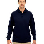 Men's Tall Pinnacle Performance Long-Sleeve Piqué Polo