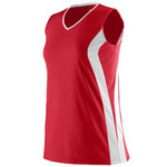 Girls Triumph Sleeveless V-Neck Jersey