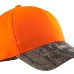 Safety Cap with Camo Brim