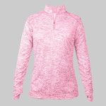 Ladies' Blend 1/4-Zip Pullover